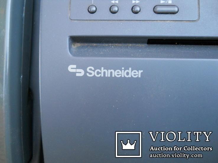 Факс немецкий Schneider, нерабочий +  кассета для записи, фото №4