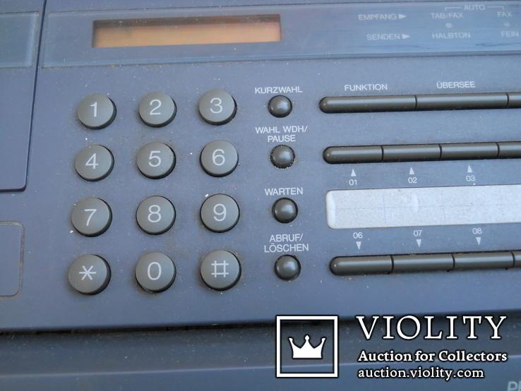Факс немецкий Schneider, нерабочий +  кассета для записи, фото №6