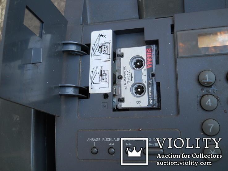 Факс немецкий Schneider, нерабочий +  кассета для записи, фото №7