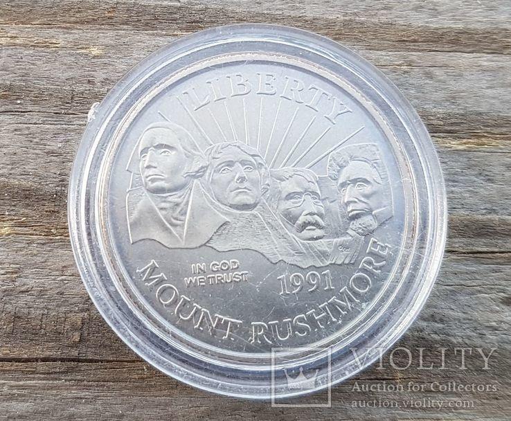 50 Центов 1991 Гора Рашмор, США, фото №2