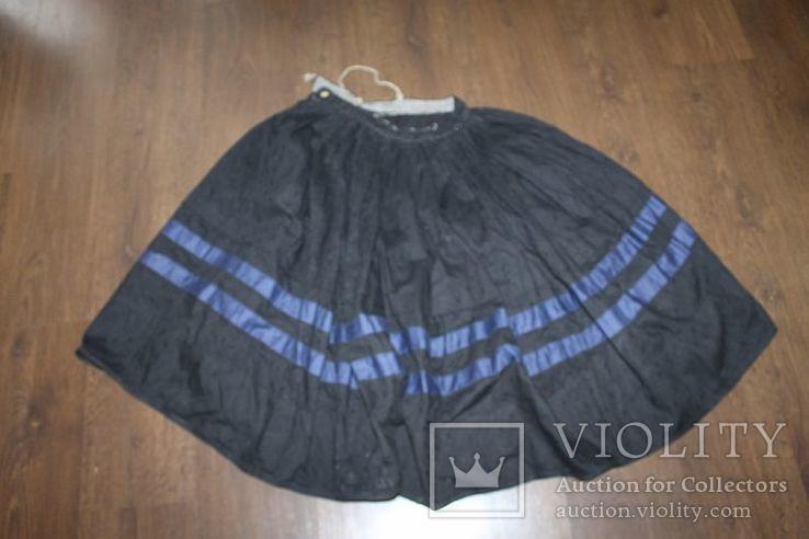 Юбка старинная №54 ( из дорогой ткани ), фото №3