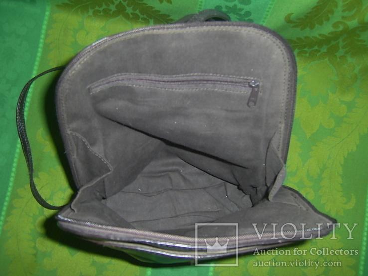 Сумка- рюкзачок кожа Европа, фото №8