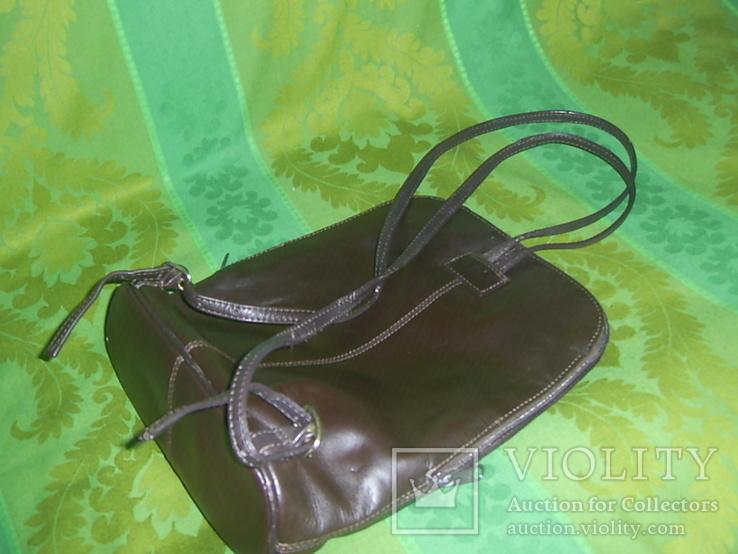 Сумка- рюкзачок кожа Европа, фото №10