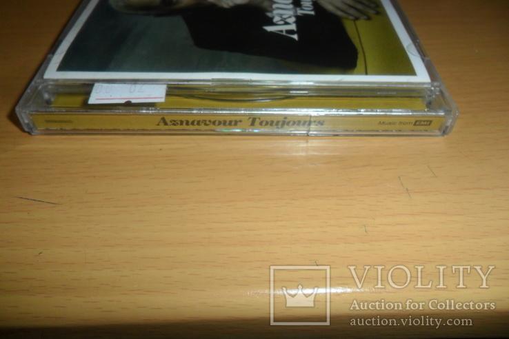 Диск CD сд Aznavour Toujours, фото №3