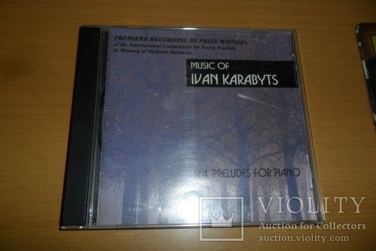 Диск CD сд Ivan Karabyts Иван Карабитц U.S.A., фото №2