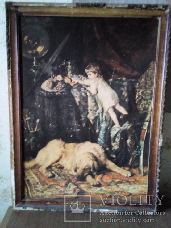 Картина Наковский 1881г. Копия., фото №2