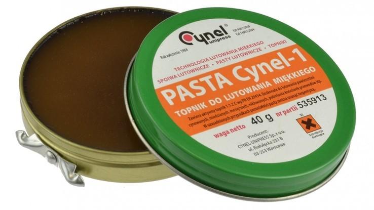 Паста паяльная Pasta Cynel-1, 40 грам , виробник Польща