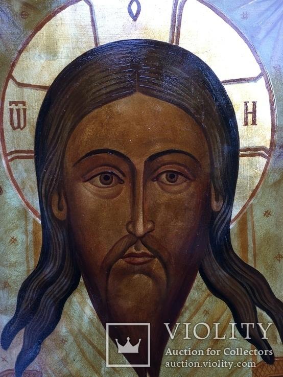 Икона Спас Нерукотворный невыкупленный лот, фото №3