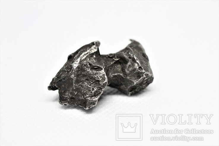 Залізний метеорит Sikhote-Alin, 29.6 г, з сертифікатом автентичності, фото №5