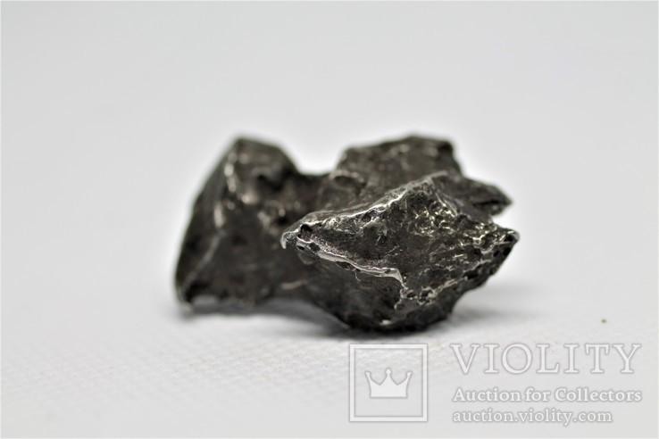 Залізний метеорит Sikhote-Alin, 29.6 г, з сертифікатом автентичності, фото №8