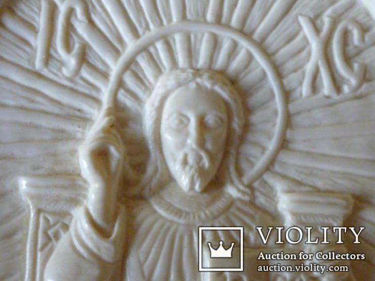 Иисус вседержитель -бивень мамонта, фото №6
