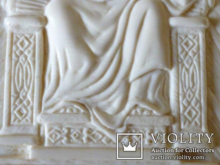 Иисус вседержитель -бивень мамонта, фото №7