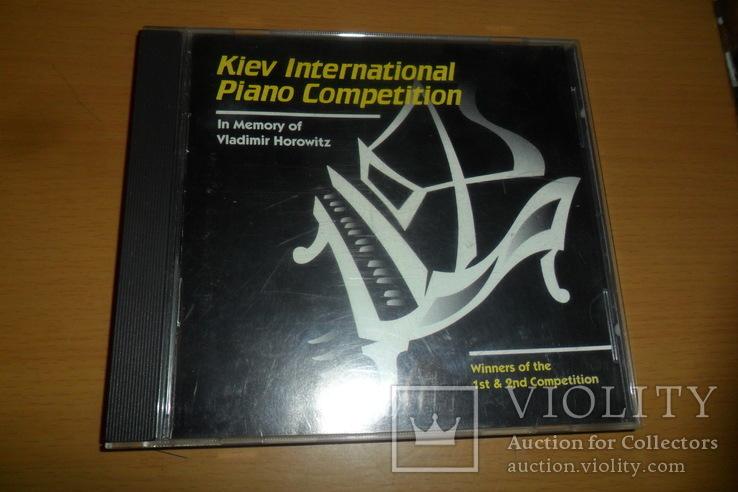 Диск CD сд Kiev International Piano Competition U.S.A. пианино, фото №2