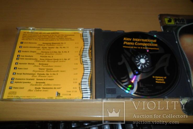 Диск CD сд Kiev International Piano Competition U.S.A. пианино, фото №6