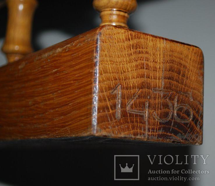 Подставка под модель судов, натуральное дерево - 35х16,57 см., фото №10