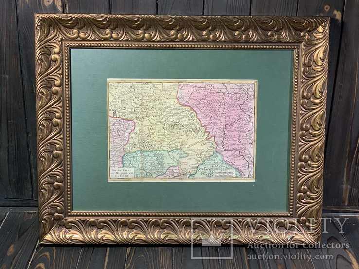 1720 Карта Юга России