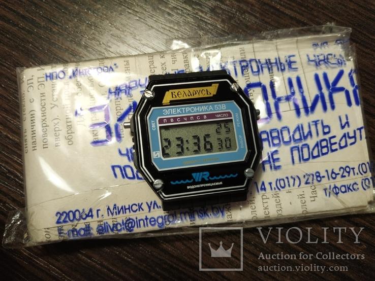 Новые часы Электроника 53, фото №2