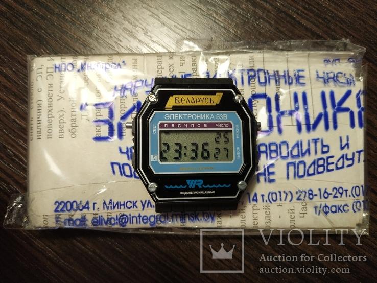 Новые часы Электроника 53, фото №5