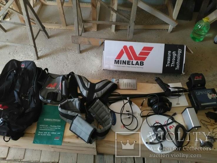 Металошукач Minelab GPX 4500, фото №2