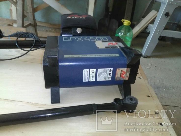 Металошукач Minelab GPX 4500, фото №6