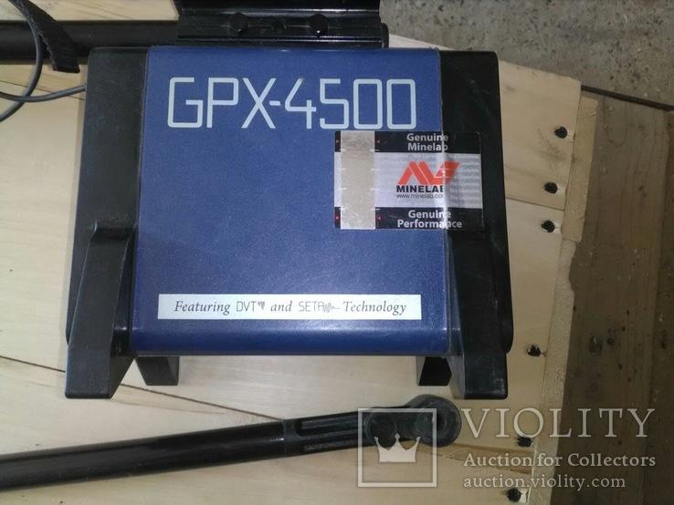 Металошукач Minelab GPX 4500, фото №7