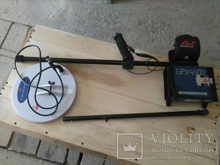 Металошукач Minelab GPX 4500, фото №9