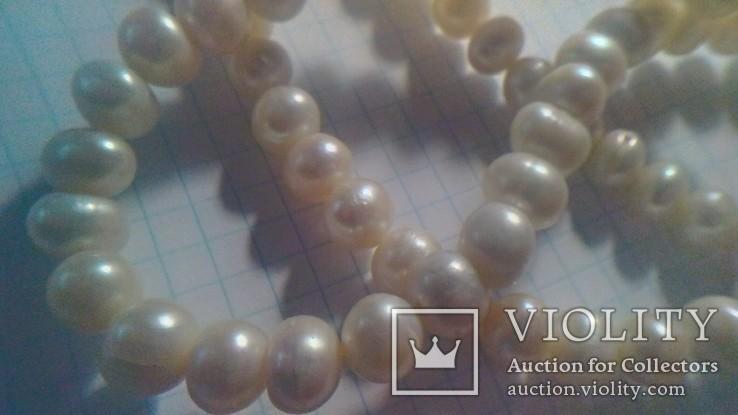 Намисто з перлин натуральних 52 см нове., фото №8