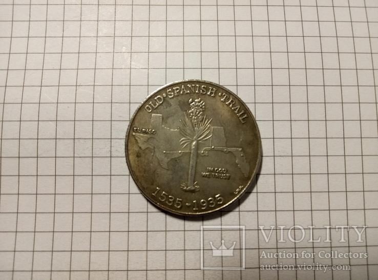 1/2 доллара 1935 США #275. Копия., фото №3