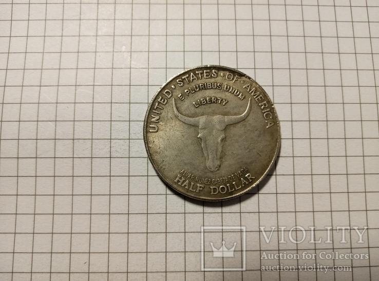 1/2 доллара 1935 США #275. Копия., фото №2