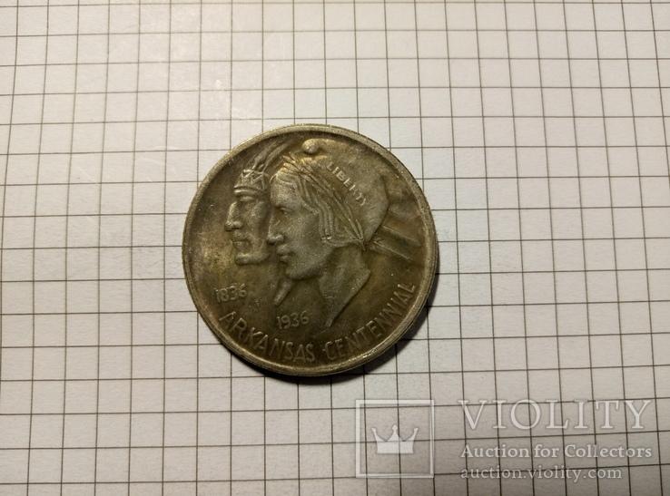 1/2 доллара 1936 США #281копия, фото №2