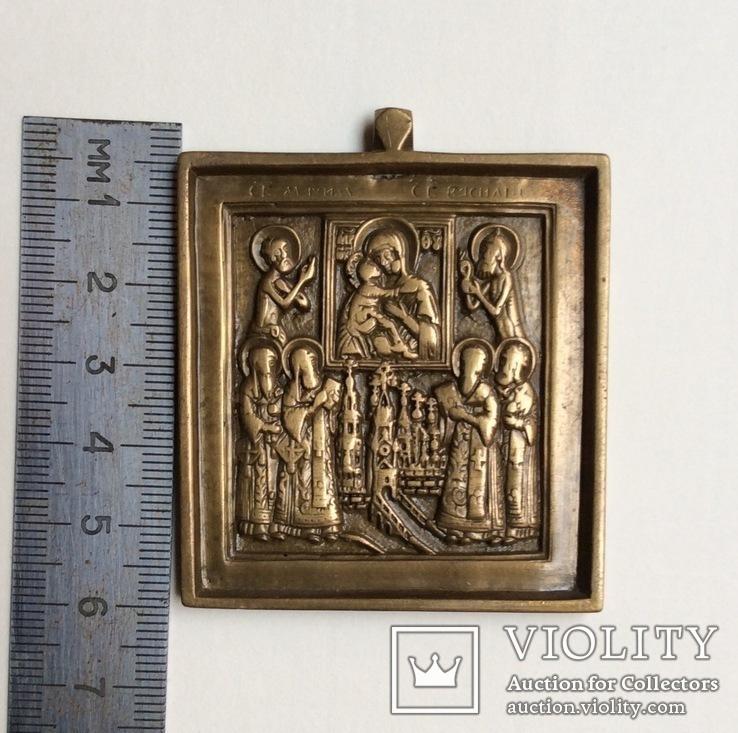 Иконка Поклонение Владимирской БМ