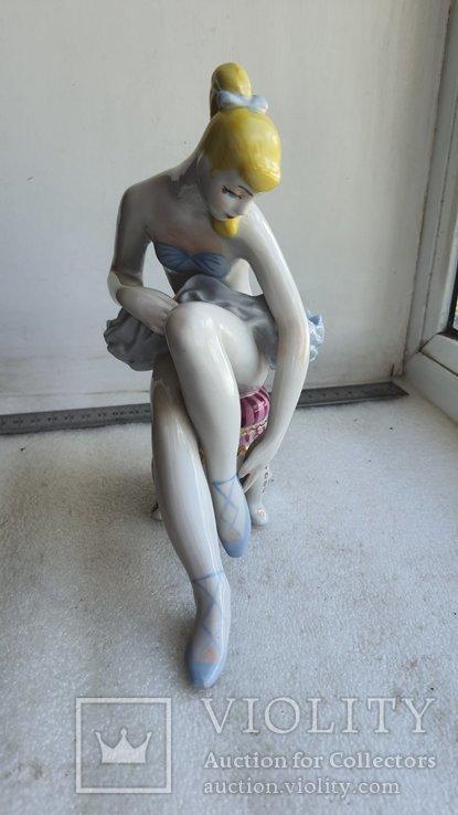 Статуэтка Балерина Леночка Киевский фарфоровый завод, фото №2