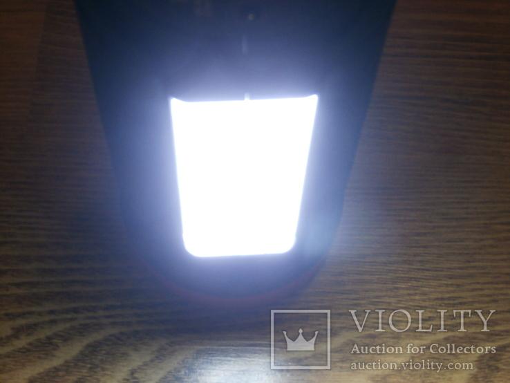 Аккумуляторный фонарь Yajia YJ-2886/5W+22SMD LED с функцией PowerBank для зарядки, фото №6