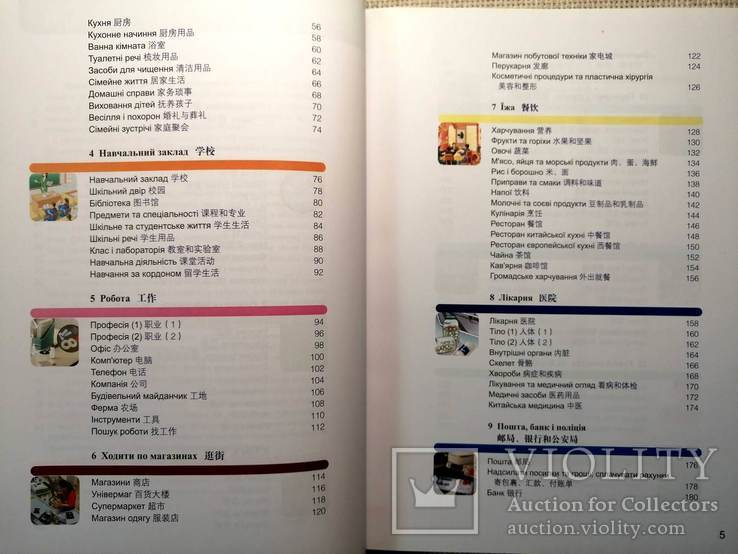 Китайсько-Український Ілюстрований Словник (4200 слів) для початківців, фото №5