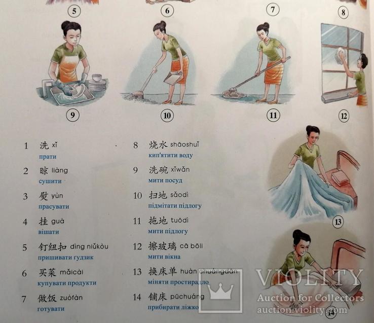 Китайсько-Український Ілюстрований Словник (4200 слів) для початківців, фото №8