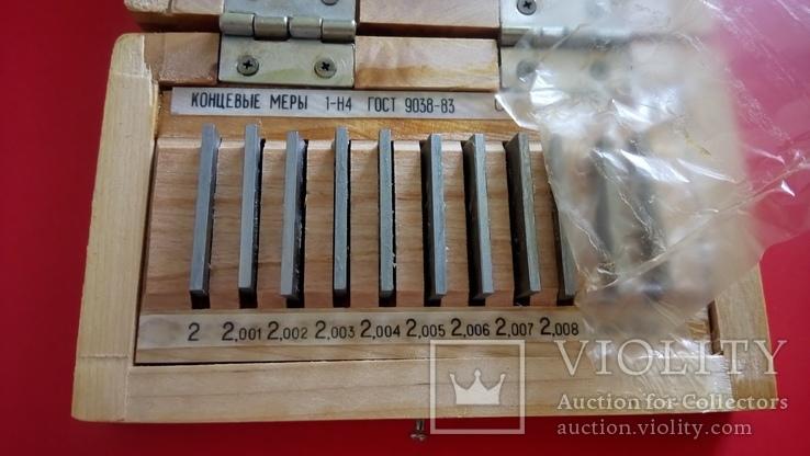 Меры длины концевые плоскопараллельные 1990 года ГОСТ 9038 новые, фото №9