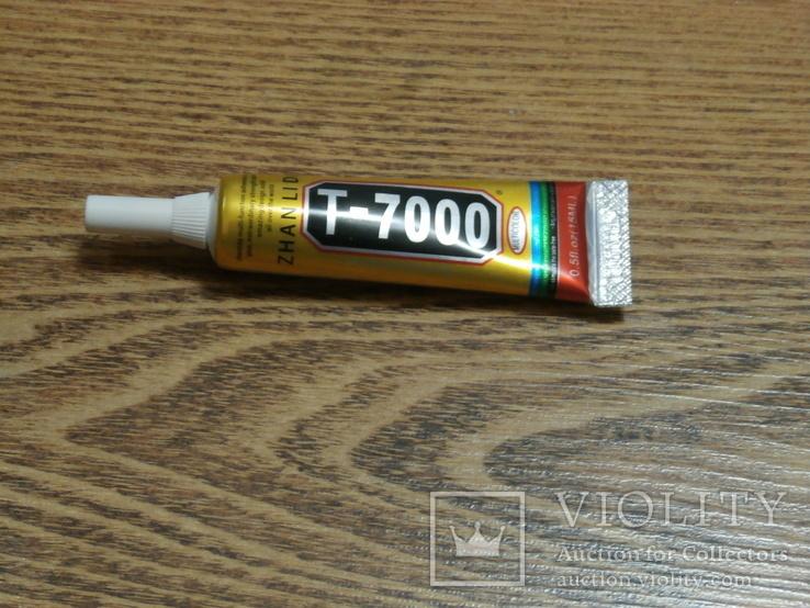 Клей-герметик силиконовый T-7000 для ремонта электроники
