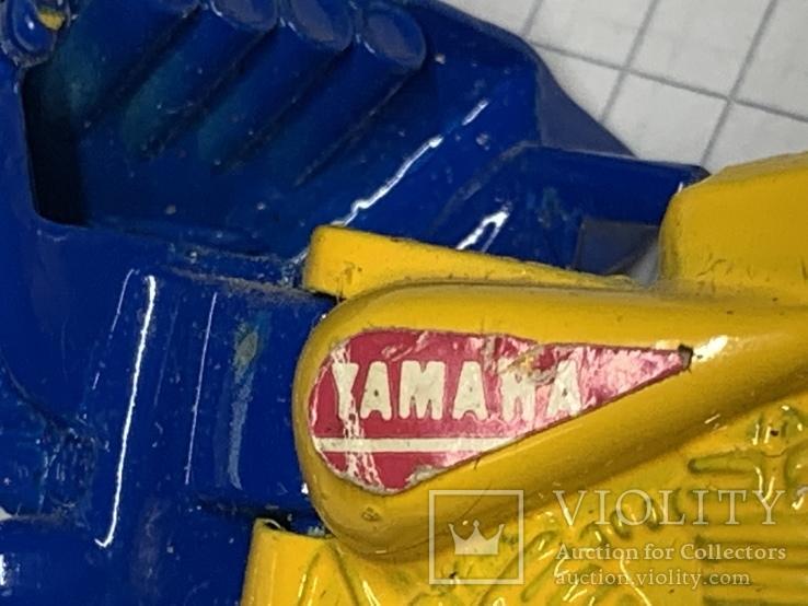 Винтажная металическая чинила для карандашей в форме мотоцикла, фото №10