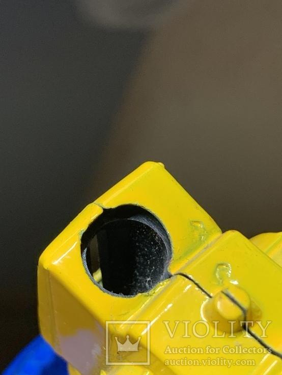 Винтажная металическая чинила для карандашей в форме мотоцикла, фото №11