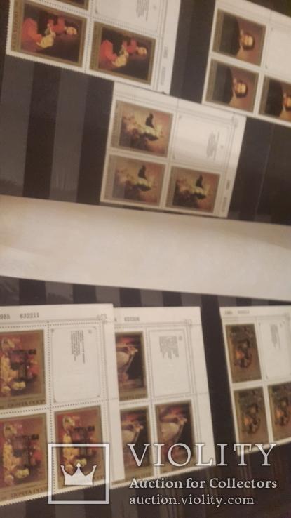 Большой кляссер с  негашеными марками и блоками СССР+бонус, фото №11