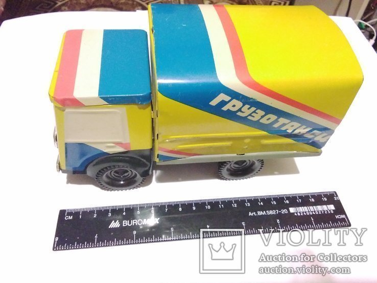 Грузотакси, фургон из жести, СССР, фото №10