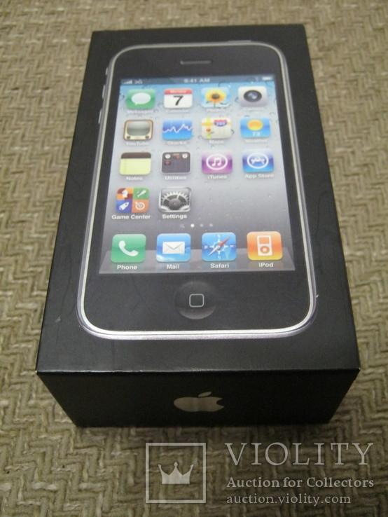 Телефон Apple iPhone 3gs 8GB + запасной блок дисплея и батарея, фото №2