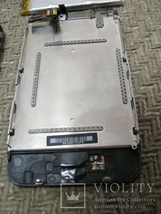 Телефон Apple iPhone 3gs 8GB + запасной блок дисплея и батарея, фото №9