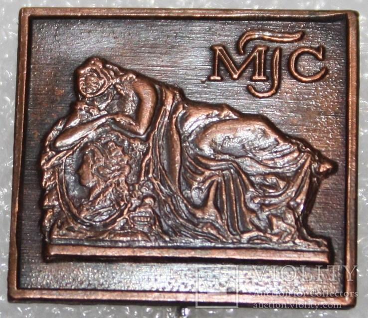 "Значок ""MTC"" (Чехословакия) тяжелый, фото №2"