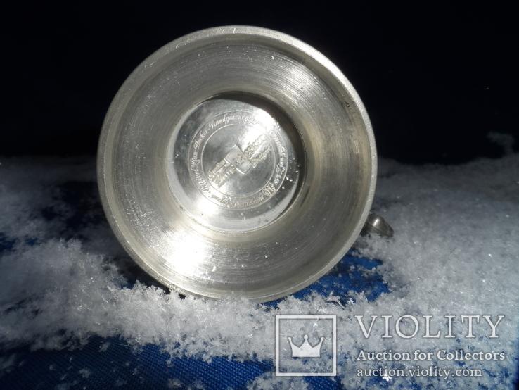 Коллекционная   кружка Олово Германия Клеймо 0,1 L, фото №9