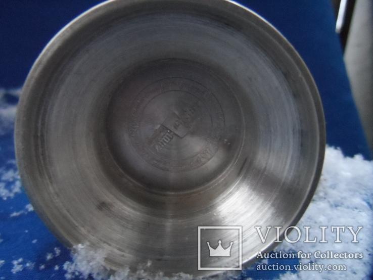 Коллекционная   кружка Олово Германия Клеймо 0,1 L, фото №10
