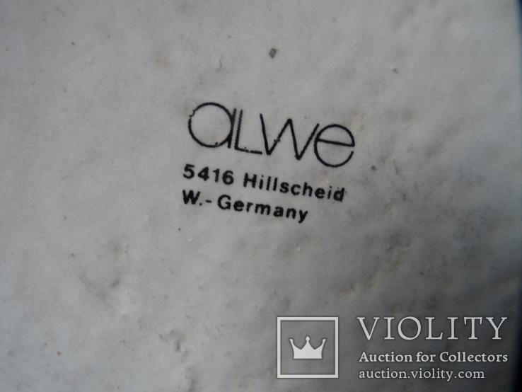Коллекционная пивная кружка Керамика олово 1,1 L W - Germany, фото №10