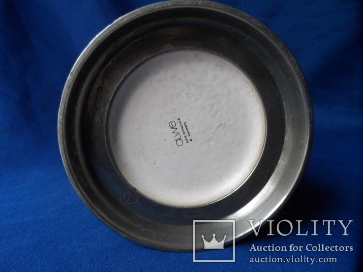 Коллекционная пивная кружка Керамика олово 1,1 L W - Germany, фото №11