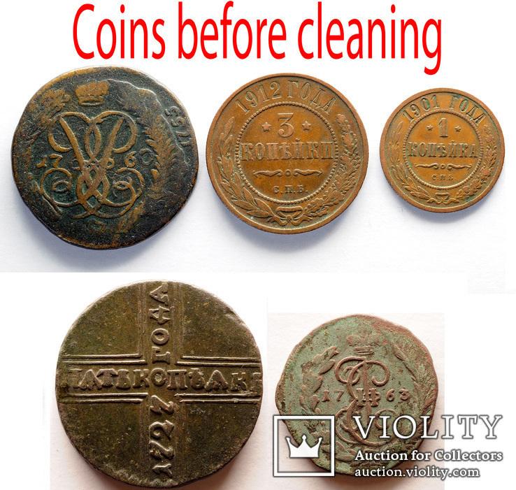 Набор для чистки монет, фото №3