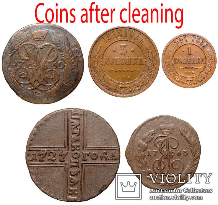 Набор для чистки монет, фото №4